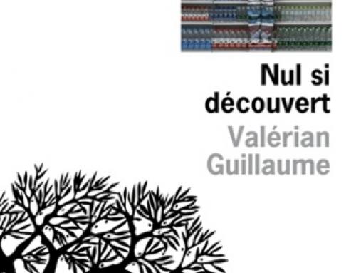 13/01/20 – Sortie du roman «Nul si découvert» de Valérian Guillaume