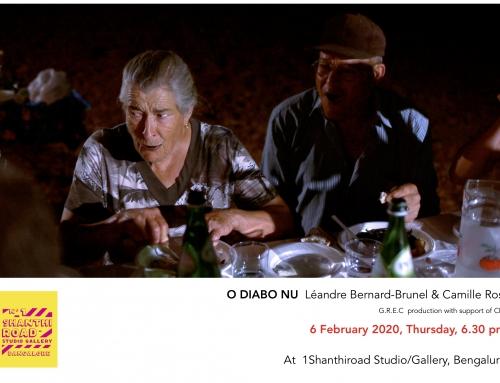 06/02/20 – Projection de O DIABO NU de Léandre Bernard-Brunel et Camille Rosa à Bangalore (Inde)